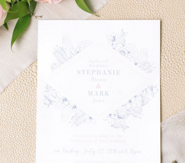 Real Weddings: Stephanie + Mark