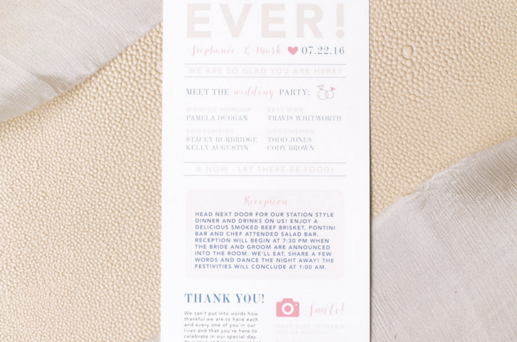 Halifax Wedding Invitations - Stephanie + Mark