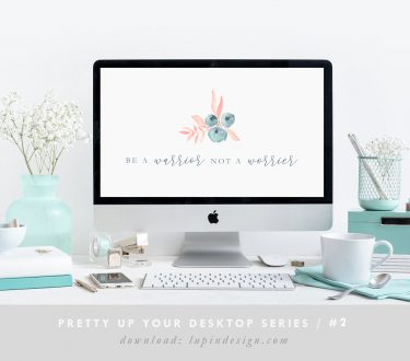 Pretty Up Your Desktop #2 – Warrior